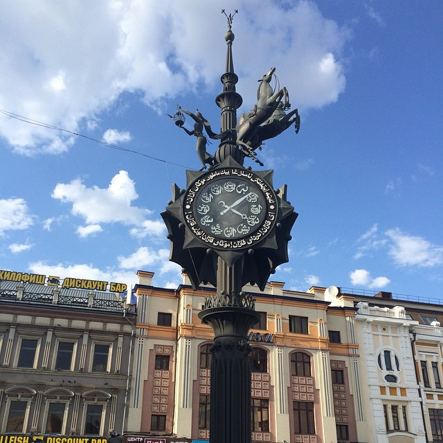 Часы влюблённых в Казани