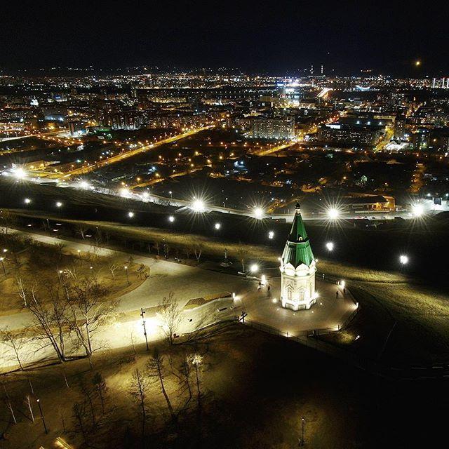 Караульная гора Красноярск