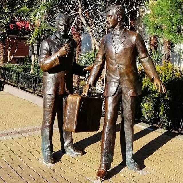 Памятник контрабандистам