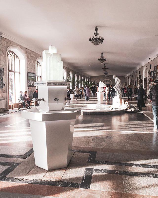 нарзанная галерея